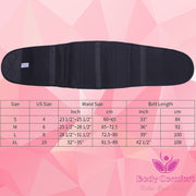 waist belt for weight loss