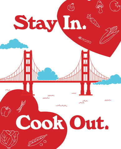 Stay In Cook Out E-Cookbook