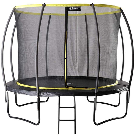 10ft Garden Trampoline With Enclosure
