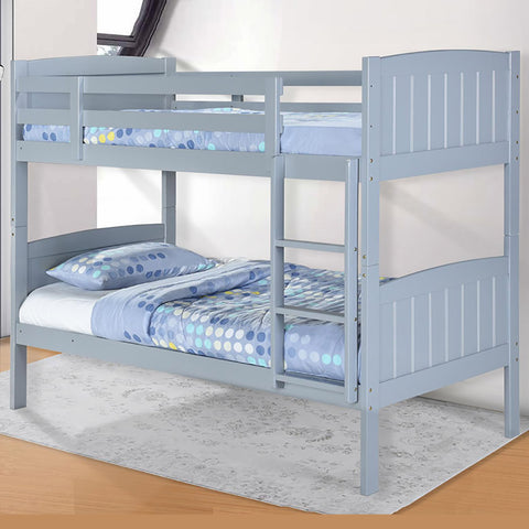 Jasper Grey Wooden Bunk Bed