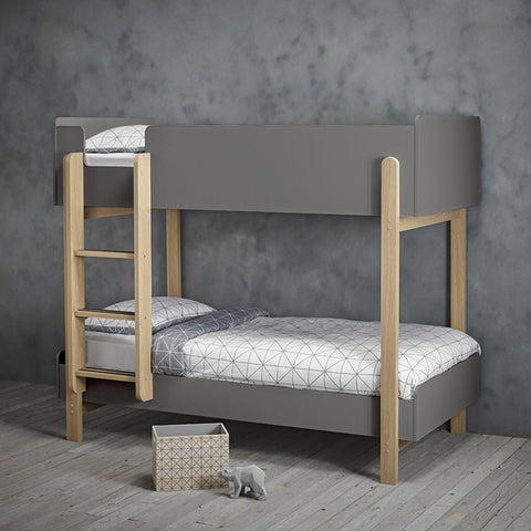 Matte Bunk Bed Grey