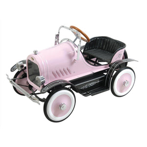 Classic Model T Vintage 1920's Pink Pedal Car