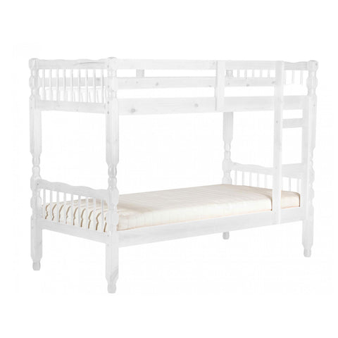 Milan White Pine Bunk Bed