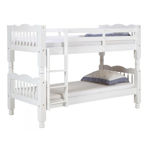Lotto Chunky Bunk Bed In White Pine