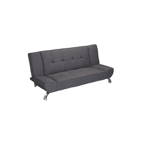 Vogue Sofa Bed Grey Linen Fabric