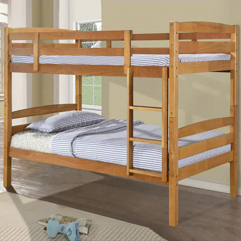 Sienna Antique Pine Finish Bunk Bed