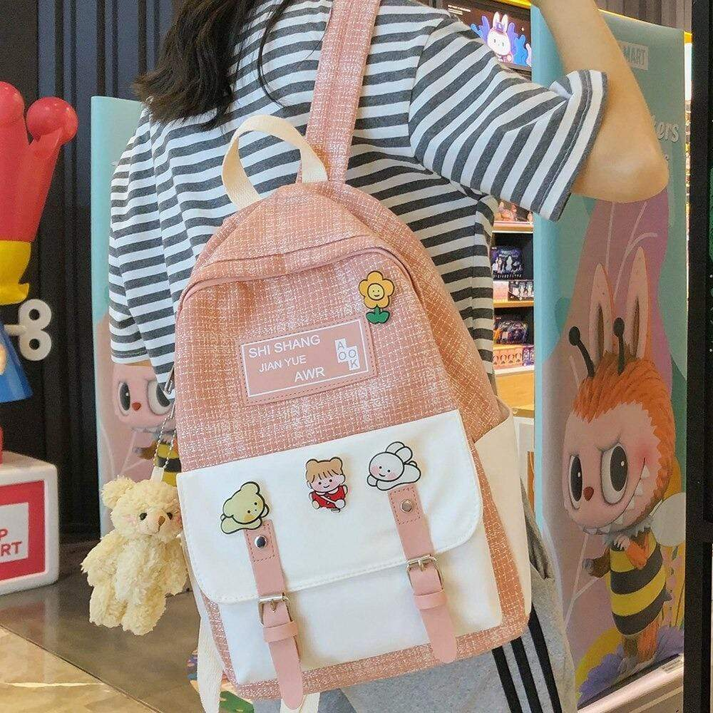 Sac à dos Rose Kawaii