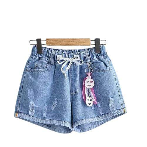 Short jean smiley kawaii