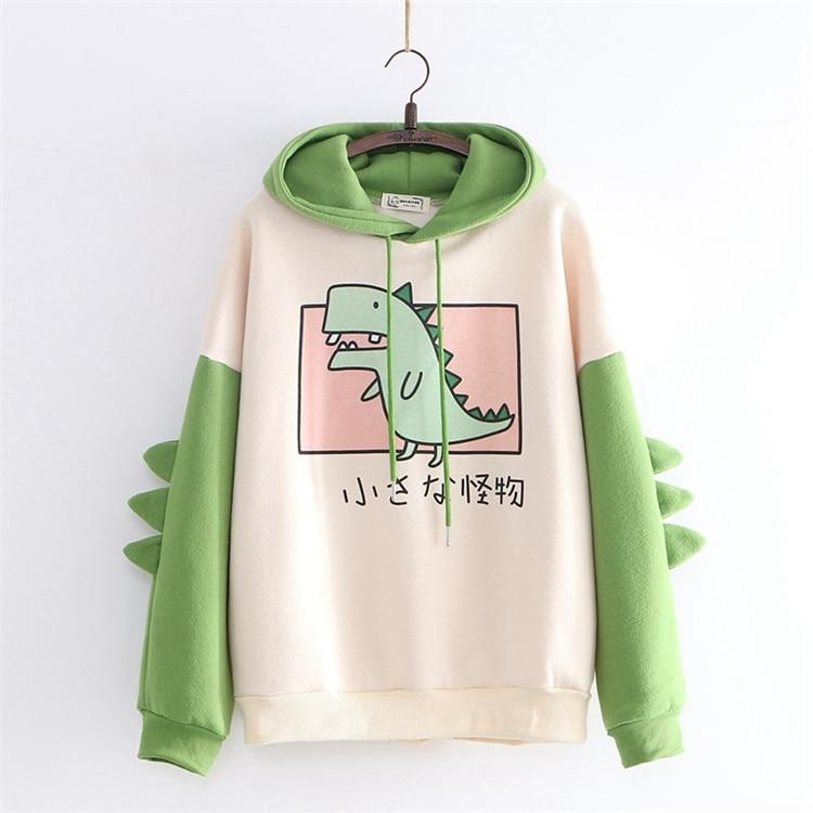 Sweat Kawaii Dinosaure