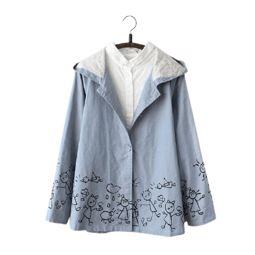 Veste Chemise Cartoon