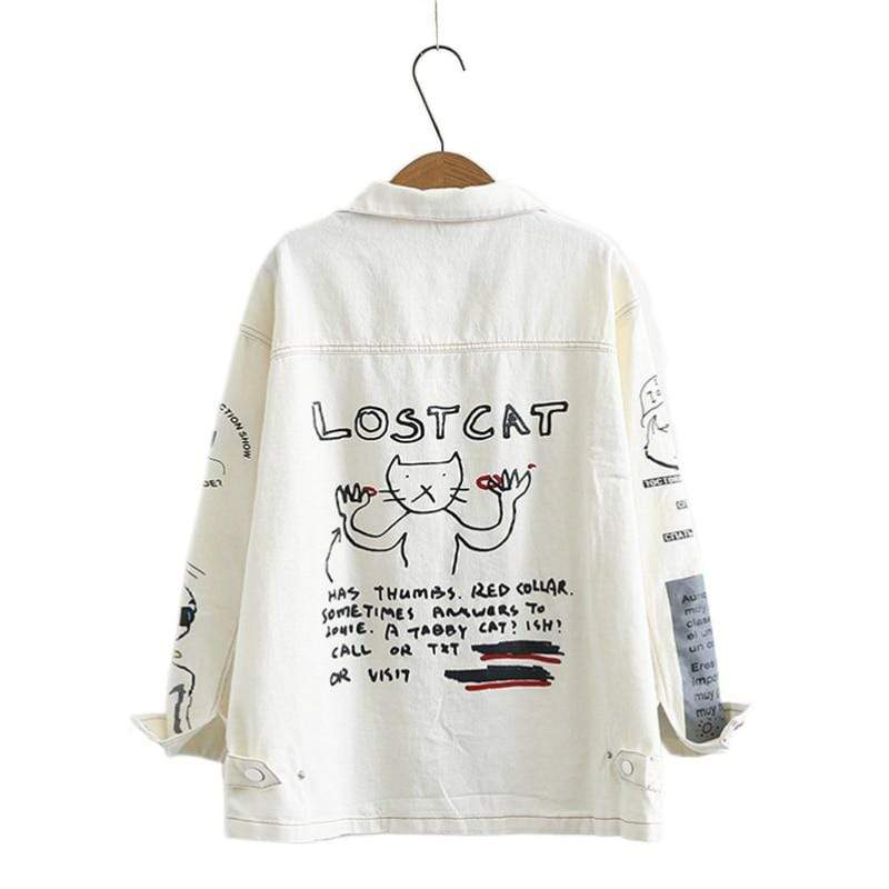 Veste Kawaii Lostcat