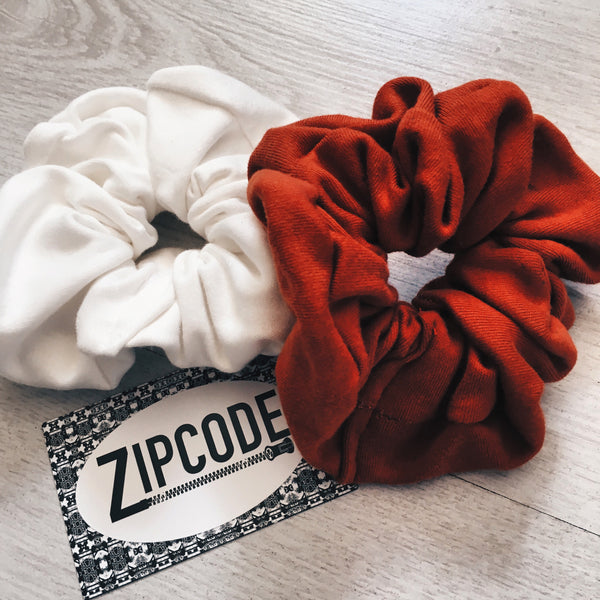 Zero-Waste scrunchies