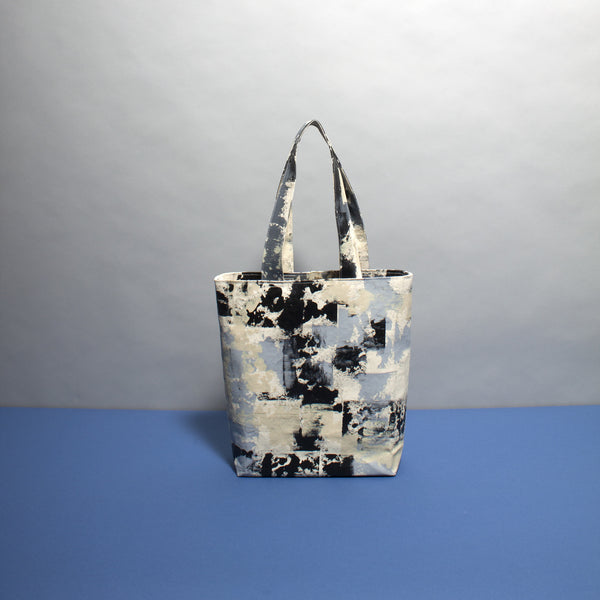 Neutral Hand Painted Bag