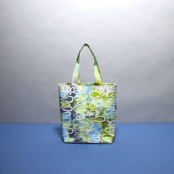 Pastel Layered Hand Painted Bag