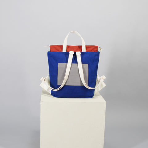 'Cut out' backpack - blue
