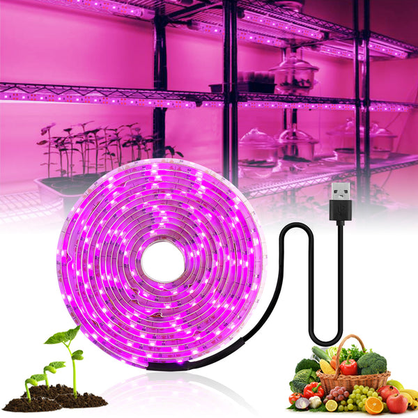 LED Grow Light Full Spectrum 5V USB For Plants Greenhouse Hydroponic