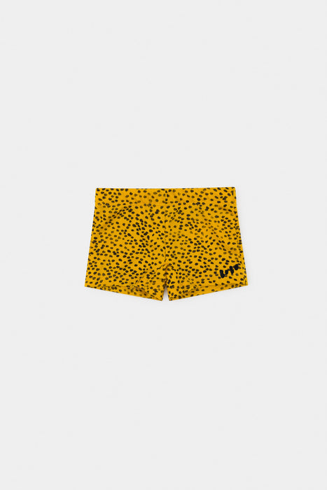 BOBO CHOSES Baby All over leopard print swim boxers