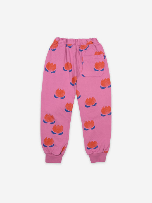 BOBO CHOSES - Chocolate Flowers all over jogging pants