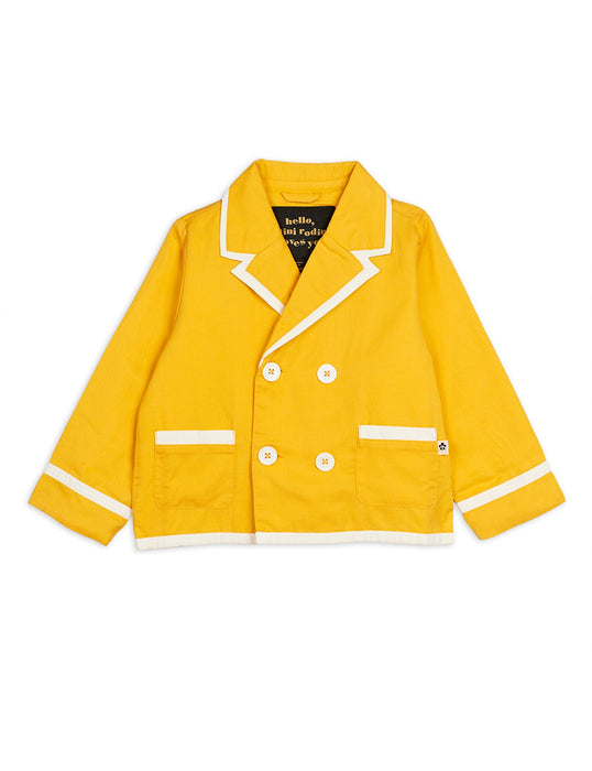 MINI RODINI Yuppie jacket yellow