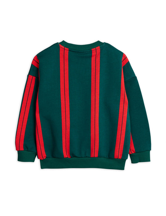 MINI RODINI Baby Striped sweatshirt green