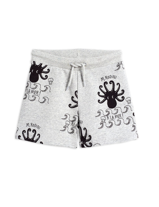 MINI RODINI Octopus aop shorts