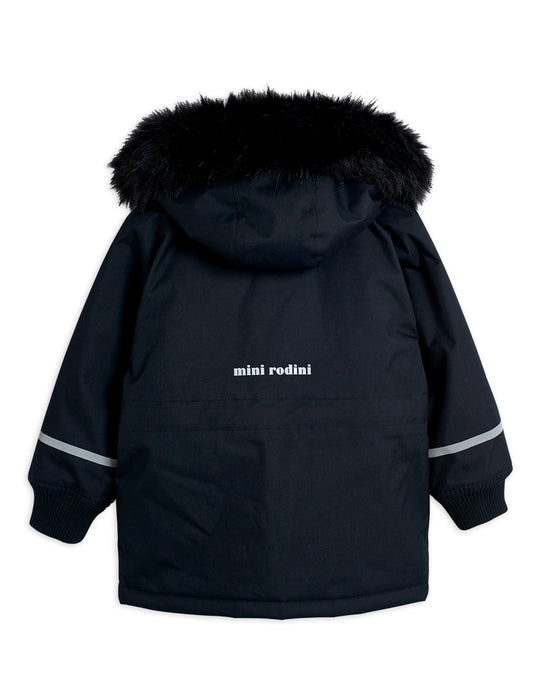 MINI RODINI K2 Black parka