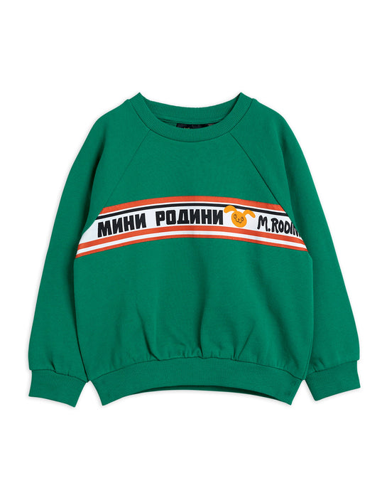 MINI RODINI - Moscow Sweatshirt Green