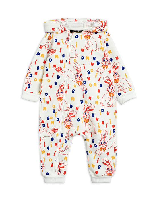MINI RODINI - MR Rabbit onesie