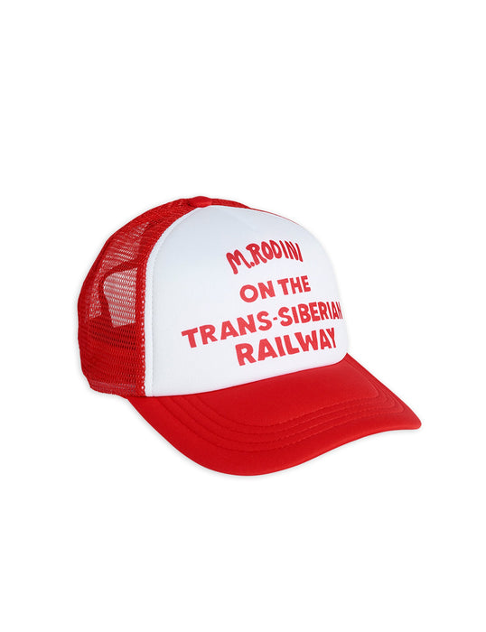 MINI RODINI - Trucker Cap Red