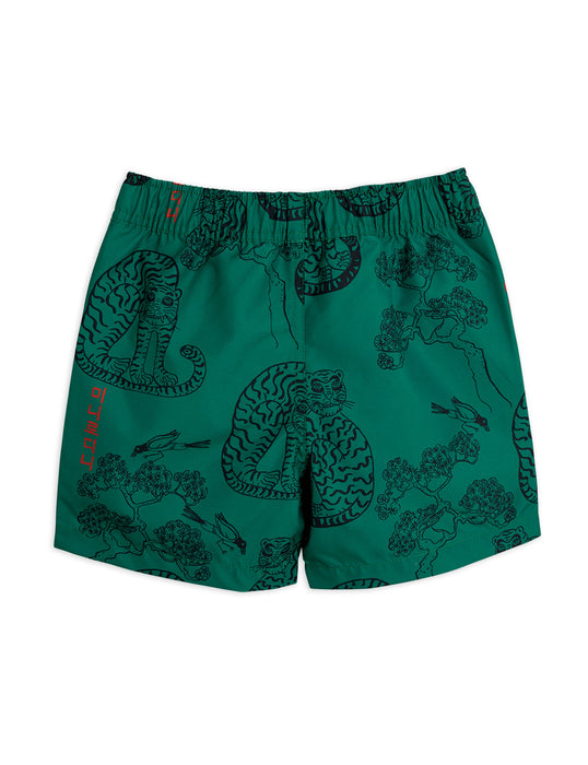 MINI RODINI - Tiger Swim Shorts