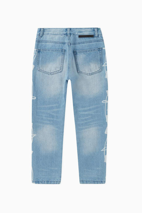 STELLA MCCARTNEY KIDS Music Notes Denim pants