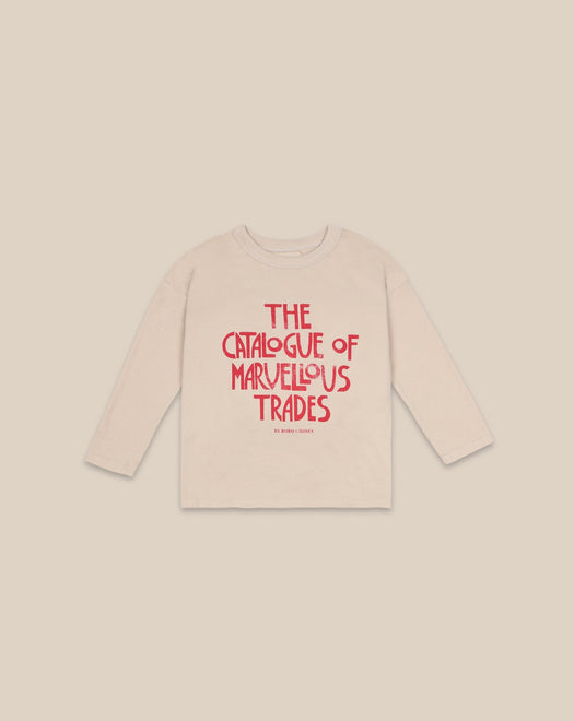 BOBO CHOSES - Catalogue of Marvelous trades longsleeve