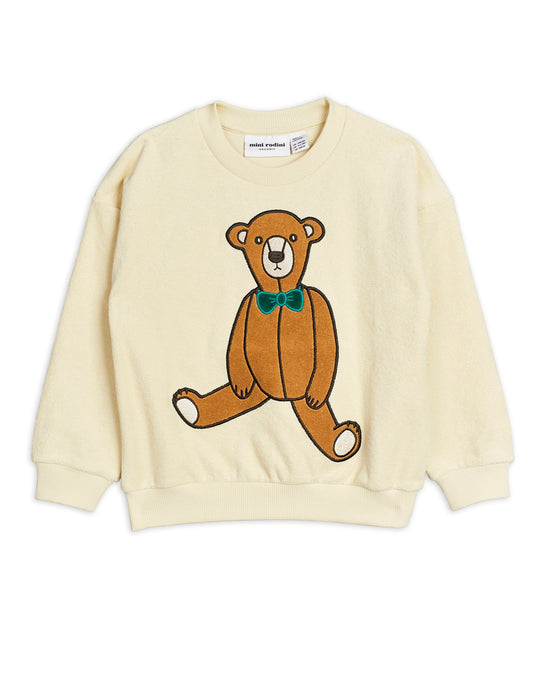 MINI RODINI Baby Teddy bear sweatshirt