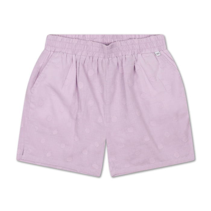 REPOSE AMS. Shorts - Light woven Structured Lilac