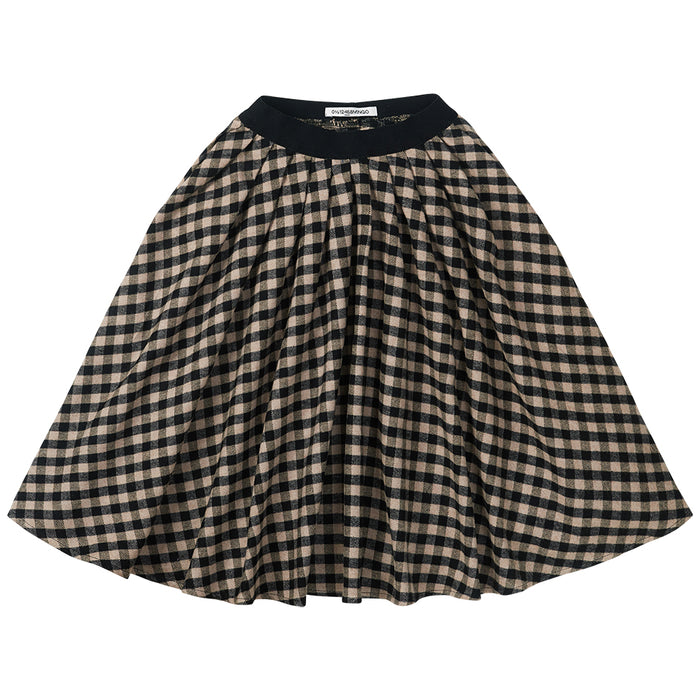 MINGO Check flannel skirt