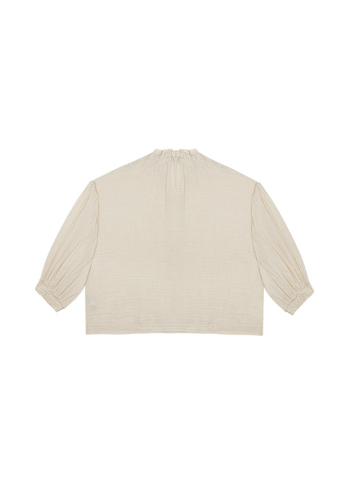 THE NEW SOCIETY - Olivia Blouse Blush