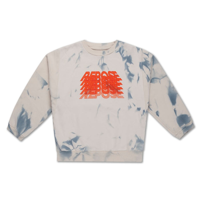 REPOSE AMS. Crewneck sweater cloudy