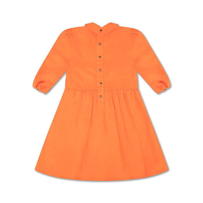 REPOSE AMS. Foxy dress -SHOCKING ORANGE RED