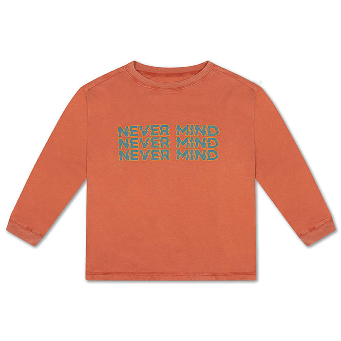 REPOSE AMS. Longsleeve - BURNT AUTUMN