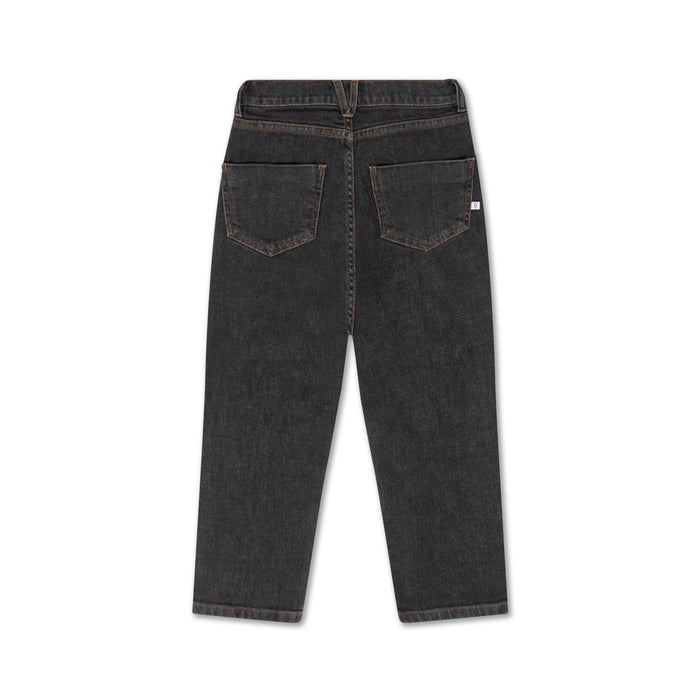 REPOSE AMS. Denim 5 pocket - WASHED CHARCOAL