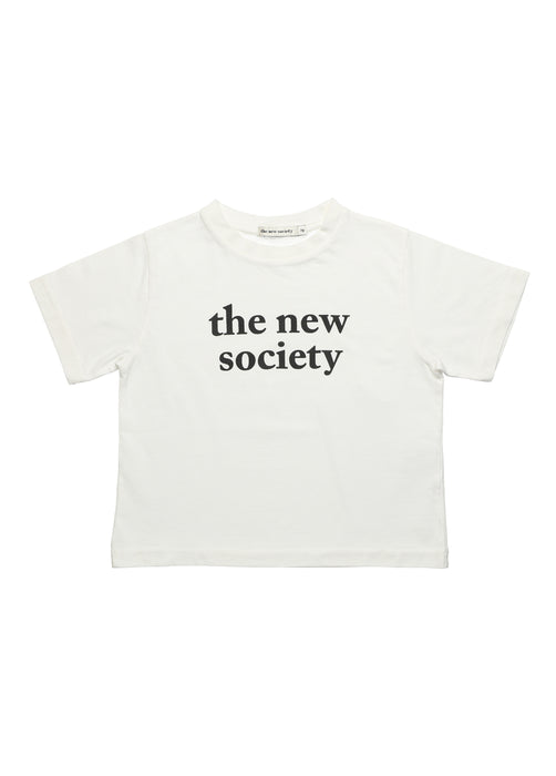 THE NEW SOCIETY - The New Society Tee Off White