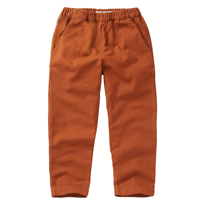 MINGO tapered trousers dark ginger