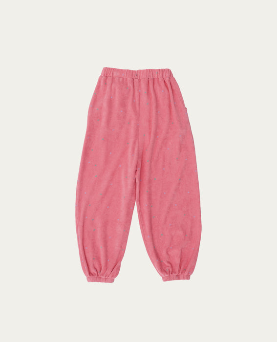 THE CAMPAMENTO - Pink Towel Trousers