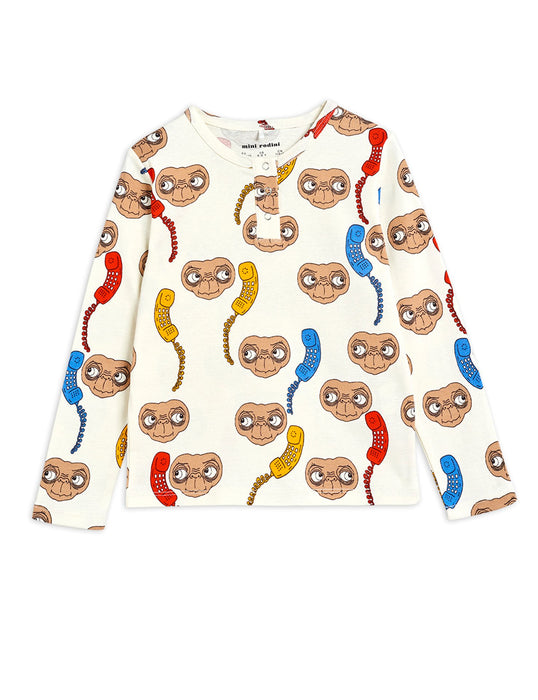 MINI RODINI E.T. grandpa shirt
