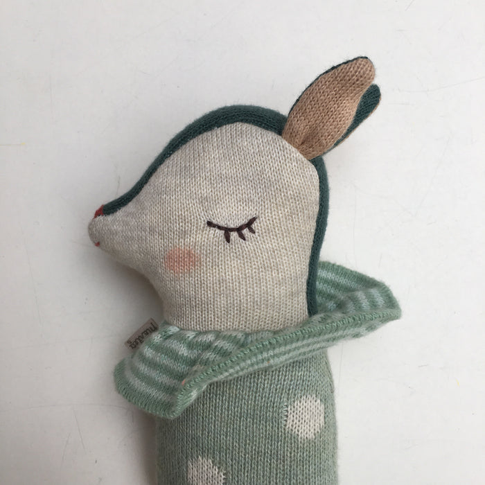MAILEG Bambi baby rattle dusty mint