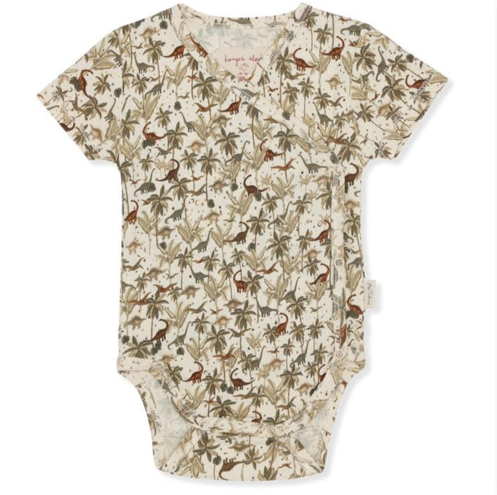 KONGES SLOJD New Born Body short sleeve DINO