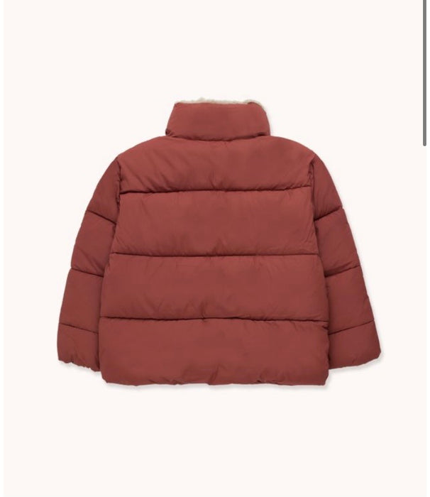 TINY COTTONS - Solid padded jacket