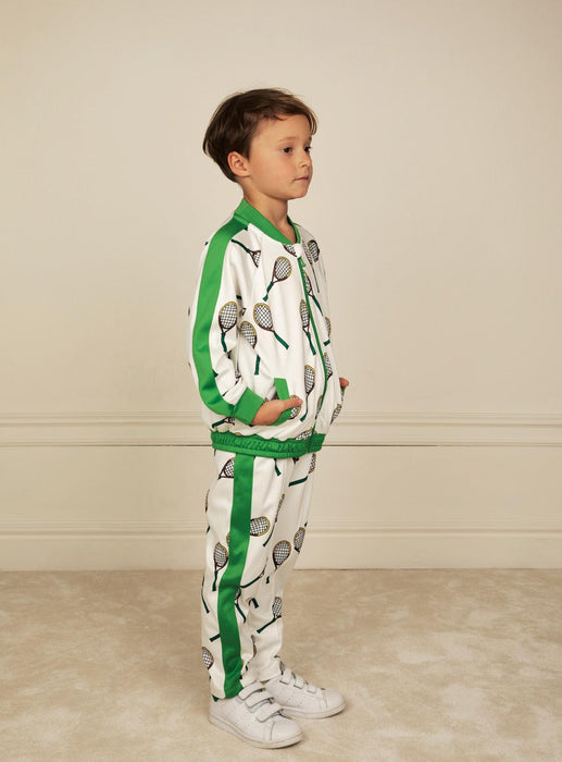 MINI RODINI Tennis track pants