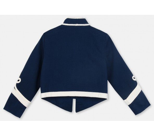 STELLA MCCARTNEY KIDS Will Military Jacket navy