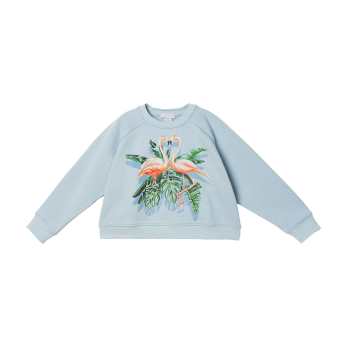 STELLA MCCARTNEY KIDS Party Flamingo Sweater